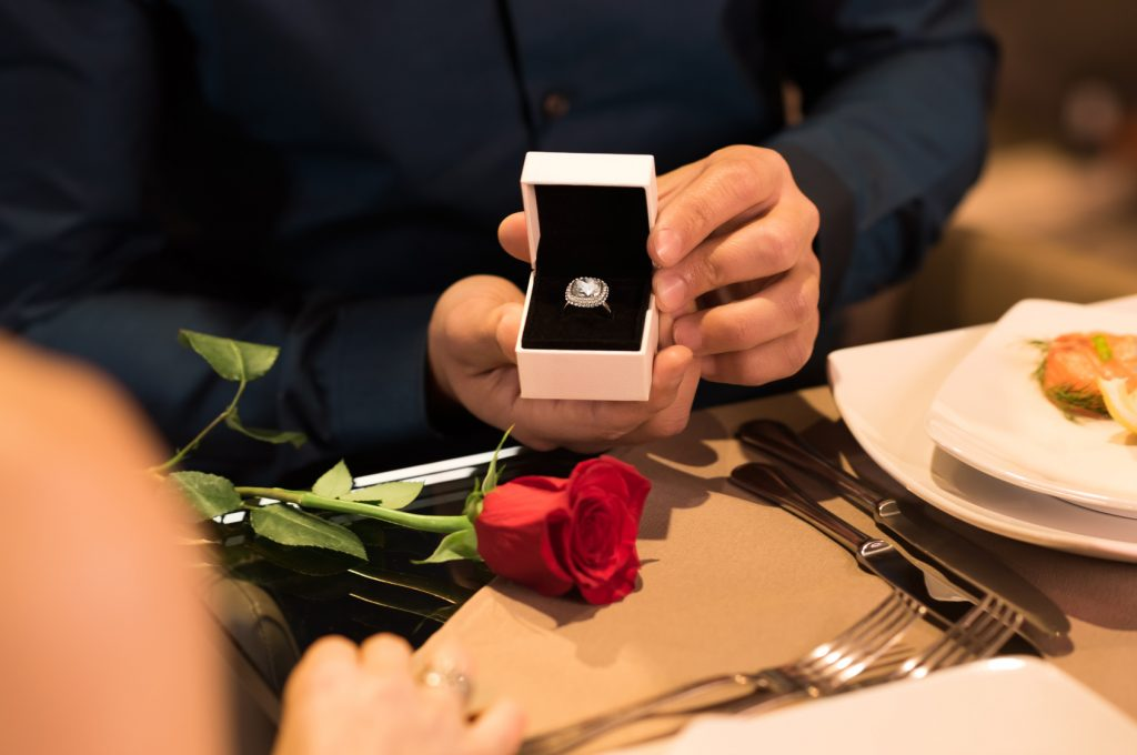 Marriage proposal in Michigan