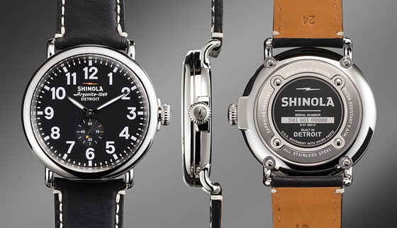 All about Shinola Watches for Men