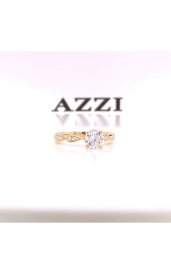 14k Yellow Gold Engagement Ring product image
