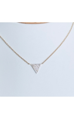 Diamond Triangle Necklace product image