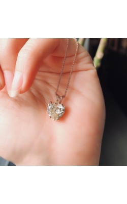 Diamond Heart Necklace product image