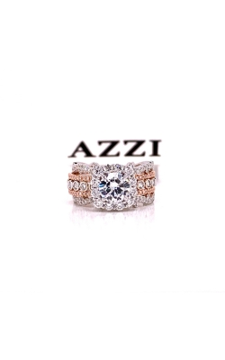 14k Rose and White Gold Diamond Ring product image