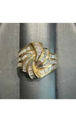 14k Yellow Gold Cocktail Ring product image