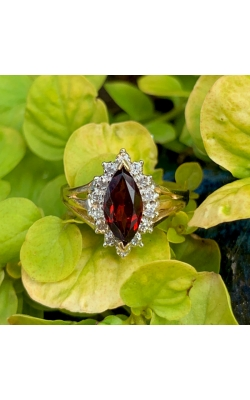 Marquise Garnet Ring product image
