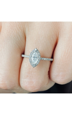 Marquise Diamond Engagement RIng product image