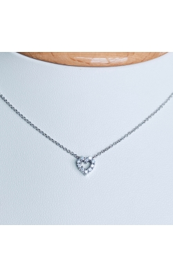 Open Heart Diamond Necklace product image