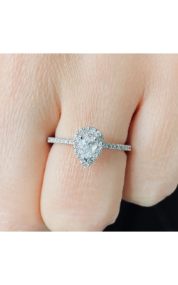 Pear Shape Diamond Ring product image
