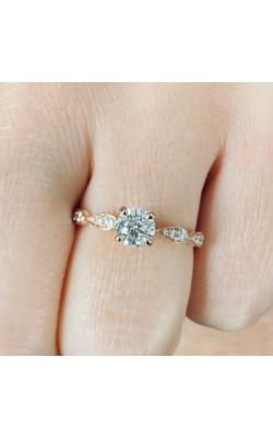 Round Brilliant Cut Diamond Engagement Ring product image