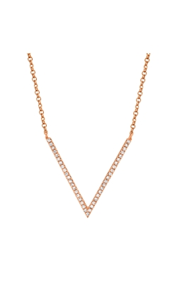 14k V Diamond Necklace product image