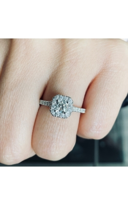 Platinum Hearts on Fire Engagement Ring product image