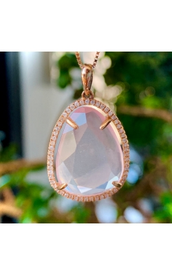 Diamond and Quartz Pendant product image