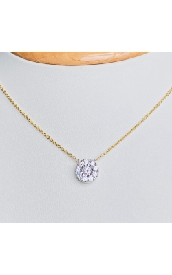 Round Diamond Pendant product image