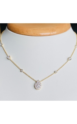 Teardrop Diamond Pendant product image