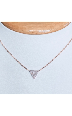Triangle Diamond Necklace product image